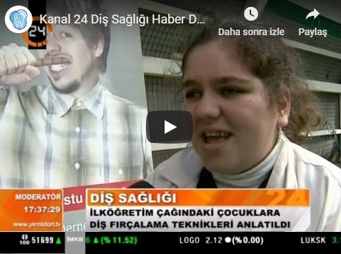 Kanal 24 Dental Health News Dentacell Güngör Doğaner