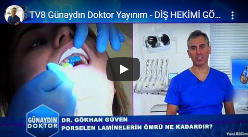 TV8 Good Morning Doctor Broadcast Dentist Gökhan Güven